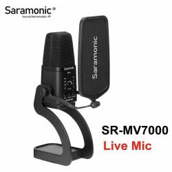 MICROFONO SARAMONIC SR-MV7000 de condensador USB y XLR