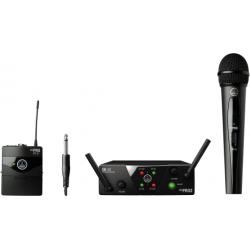 Sistema inalambrico AKG WMS 40 MINI DUAL VOCAL INSTRUMENTAL