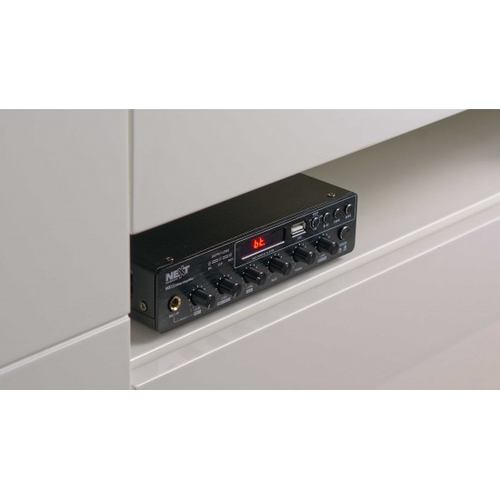 Amplificador de potencia MX120 NEXT Audiocom