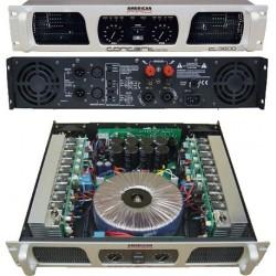 Amplificador de potencia AMERICAN PRO C 3600