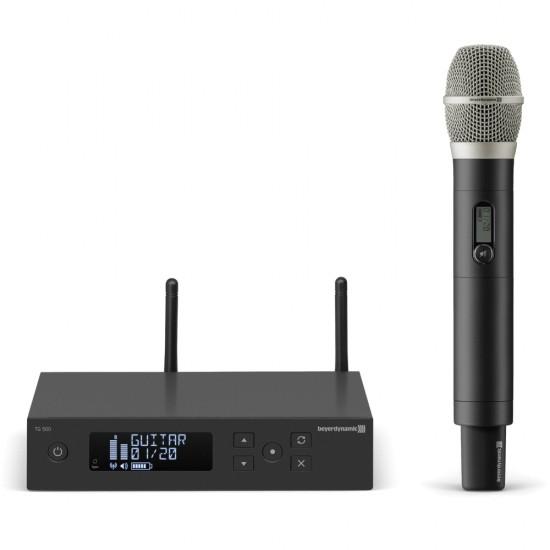 Micrófono inalámbrico Beyerdynamic TG 556 set vocal 518-548 MHz