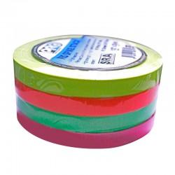 Pack de Cinta Gaffer PRO GAFF 4 colores fluor