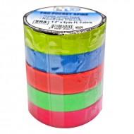 Pack de bolsillo Cinta Gaffer PRO GAFF 5 colores fluor