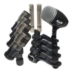 Set microfonos  de bateria CAD AUDIO TOURING 7