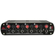 Caja directa de 4 canales activa con mezclador de línea DBX DI4