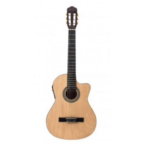 Guitarra electroacustica Memphis CG 100 CE