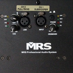 Sub-bajo activo MRS H-118 P