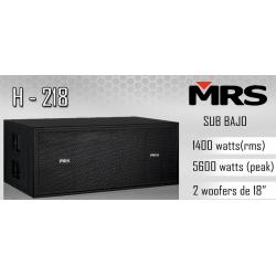 Line array MRS H-218 Sub-bajo