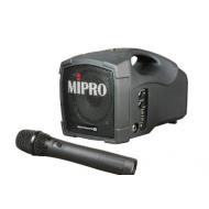 Sistema Portátil Mipro con microfono de mano MA-101 U / MH 801