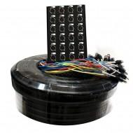 Multipar 24 canales 4 retornos de 35 mts. PRODB SC056-2835