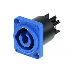 Conector chasis PowerCON 20A Neutrik azul