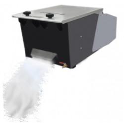 Maquina de humo bajo 1200 W ( trabaja con hielo seco )