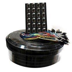 Multipar 24 canales 4 retornos de 50 mts. PRODB SC056-2850