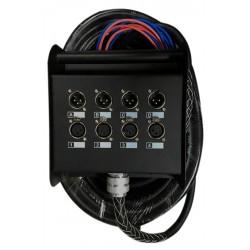 Multipar  4 canales 4 retornos de 10 mts. PRODB SC048-8