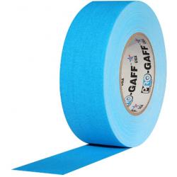 Cinta Gaffer PRO GAFF azul flúor