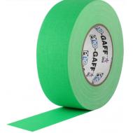 Cinta Gaffer PRO GAFF verde flúor