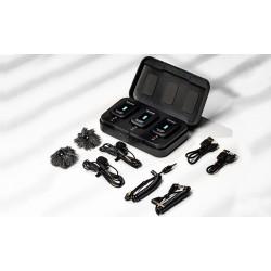 Microfono lavalier inalámbrico ULTRA PORTABLE UHF SARAMONIC BLINK500 PRO2 PACK