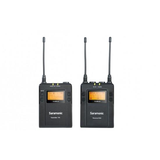 Sistema lavalier inalámbrico PORTABLE UHF SARAMONIC UWMIC9 KIT2