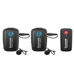 Microfono lavalier inalámbrico ULTRA PORTABLE UHF SARAMONIC BLINK500 B2 PACK