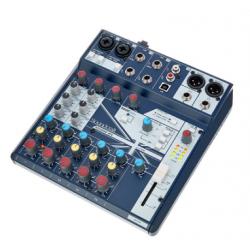 Soundcraft Notepad 8FX con USB