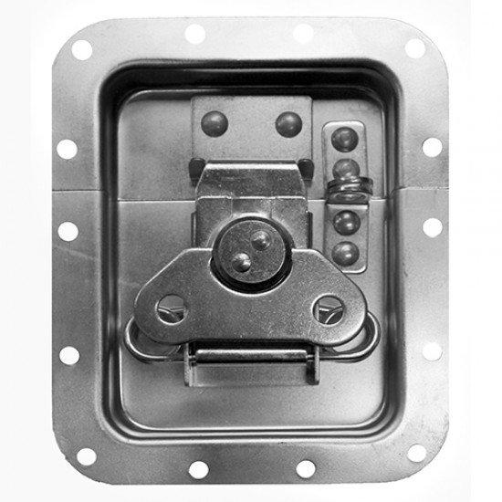 Chapa mediana con offset y porta candado