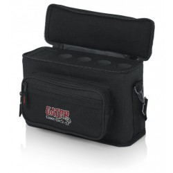 Bolso acolchado GATOR para 4 micrófonos