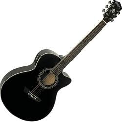Guitarra Electroacustica Washburn EA12B - Negra