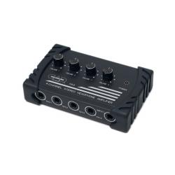 Amplificador de audífonos de cuatro canales CAD AUDIO HA4