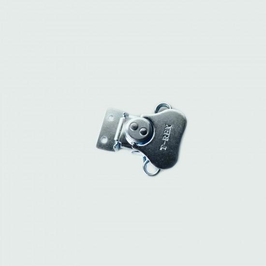 CHAPA 51mmx55mmX14mm con cierre plano