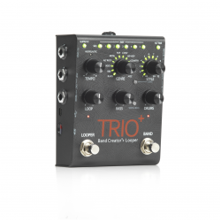 Pedal de Guitarra TRIO+ Band Creator + Looper