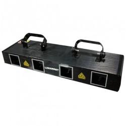 Laser de cuatro aperturas Rojo - verde - azul - amarillo  430mW L2500 GRBY