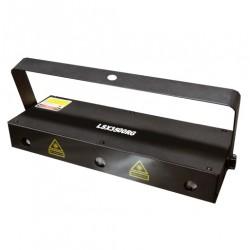 Laser de tres aperturas Rojo - verde 500mW LSX3500 RG