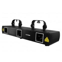Laser de tres aperturas Rojo - verde - azul  250mW L233RGB