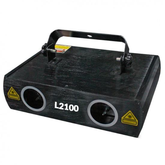 Laser doble verde 50mW L2100