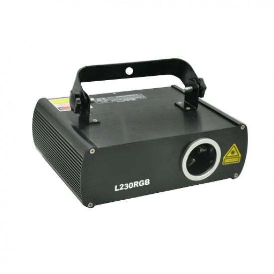 Laser multicolor 230mW RGB L230RGB