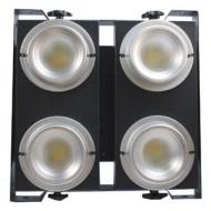 BLINDER LED BLANCO CALIDO Y FRIO 4 X 100 Watts Glowing