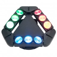 Efecto led Mini Spider 3X3 RS-012M GLOWING