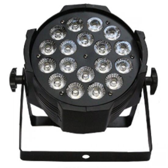 FOCO LED 18 x 15 W  ( 6 en 1 )