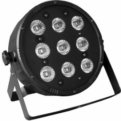FOCO LED 9 LED 4en1 ( RGBW )