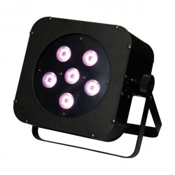 Par LED slim 7x10w 4 en 1