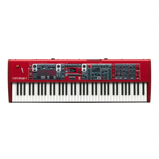 Teclado NORD KEYBOARDS sintetizador NORDSTAGE 3 HP76 / ENTREGA EN 10 DÍAS HÁBILES