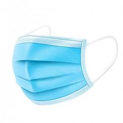 Máscara Desechable 3 Pliegues Pack de 50 Unidades