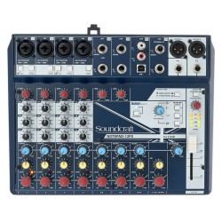 CONSOLA SOUNDCRAFT NOTEPAD 12FX