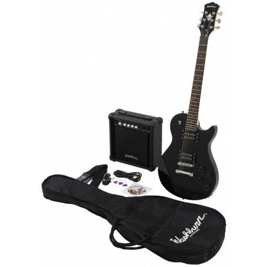 Pack Guitarra Electrica Washburn WIN14