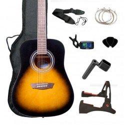 OFERTA Pack de guitarra acustica GWL George Washburn Limited