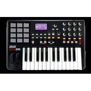 Controlador MIDI Akai MPK 25