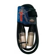 Cable profesional Microfono XLR Cablelab 10mt