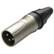 Conector Macho XLR Cablelab