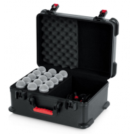 Case de fibra para 15 micrófonos GATOR