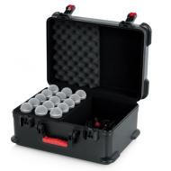 ¡PRONTO! Case de fibra para 15 micrófonos GATOR